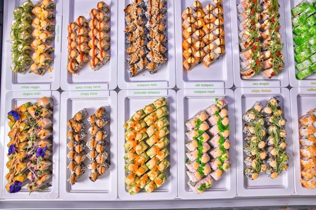 Frisk Sushi og råvare